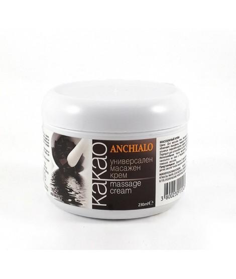Универсален масажен крем от какаово масло ANCHIALO, 230 мл | Красота и здраве | beautyhealth.bg