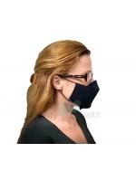 Черна маска с филтър с активен въглен от кайсиеви костилки разработка на БАН | beautyhealth.bg