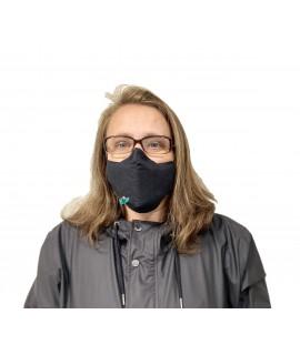 Черна маска за лице с 2бр филтър с активен въглен от кайсиеви костилки на БАН на цена 12лв  beautyhealth.bg | Красота и здраве