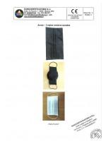 Европейски сертификат  на маска и филтър с активен въглен от кайсиеви костилки разработка на БАН 1