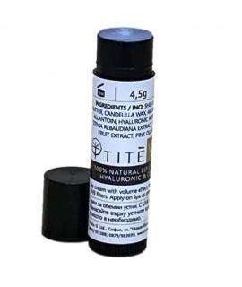 HYALURONIC & COLLAGEN - 100% натурален стик за обемни устни / SPF 30- TITE| Krista G | Красота и здраве
