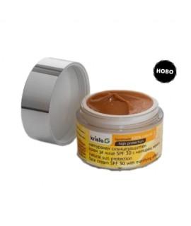 Натурален слънцезащитен крем за лице SPF 30 с матиращ ефект | Krista G | Красота и здраве