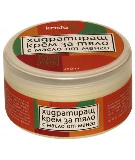 Хидратиращ крем за тяло с масло от манго | Krista-G | beautyhealth.bg