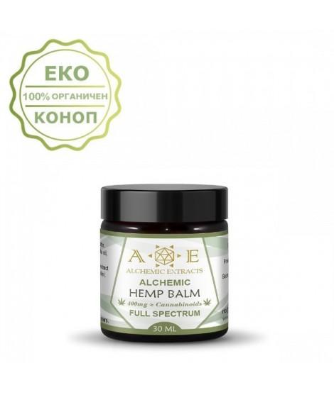 Алхимичен крем с коноп 400mg CBD - 30 мл | Alchemic Extracts | beautyhealth.bg