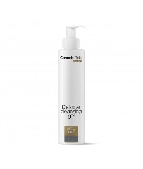 Деликатен почистващ гел за всеки тип кожа 200 мл | Cannabigold Extracts | beautyhealth.bg