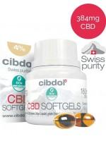 Cibdol CBD капсули от мек гел (дражета) 4% | Cibdol | beautyhealth.bg
