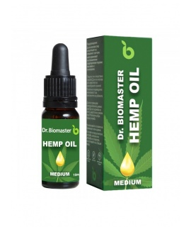 Конопено масло - Медиум 1000 мг | Dr. Biomaster | beautyhealth.bg