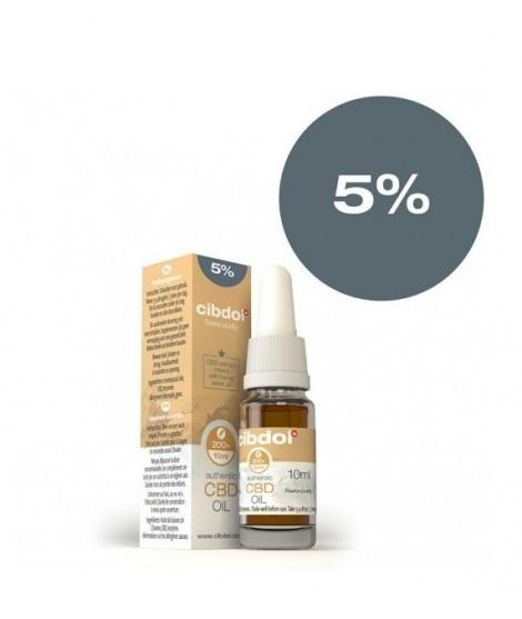 Конопено масло Cibdol CBD hemp oil 10ml, 5% Канабидиол (460mg) | Cibdol | beautyhealth.bg