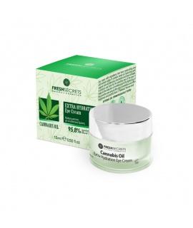 Крем за околоочен контур с масло от конопено семе 15 мл | Fresh Secrets | beautyhealth.bg