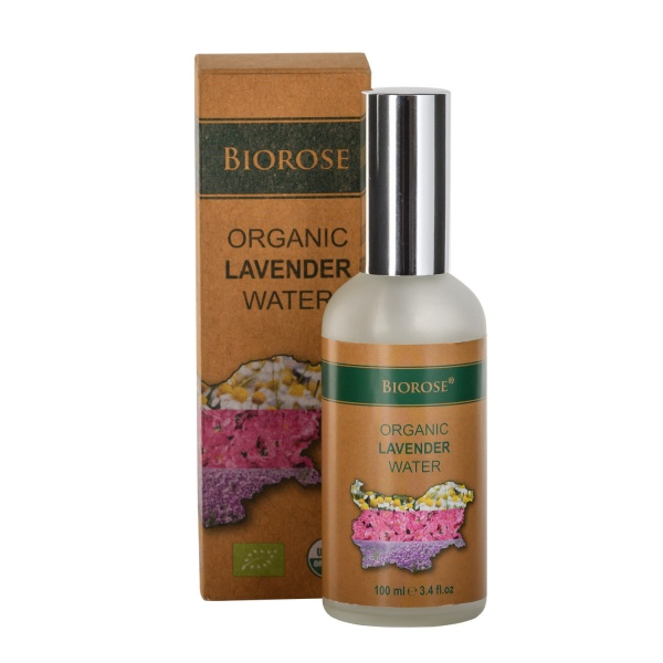 Органична вода - Лавандула - Organic Lavender Water 100 мл | BioRose | Красота и здраве