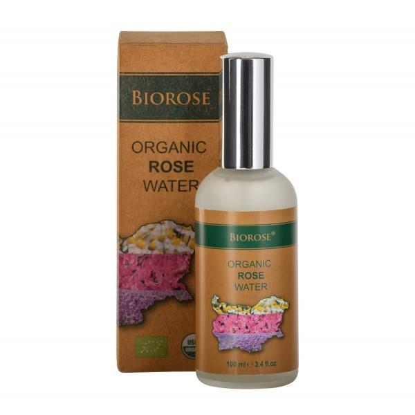 Органична вода - Роза - Organic Rose Water 100 мл | BioRose | Красота и здраве