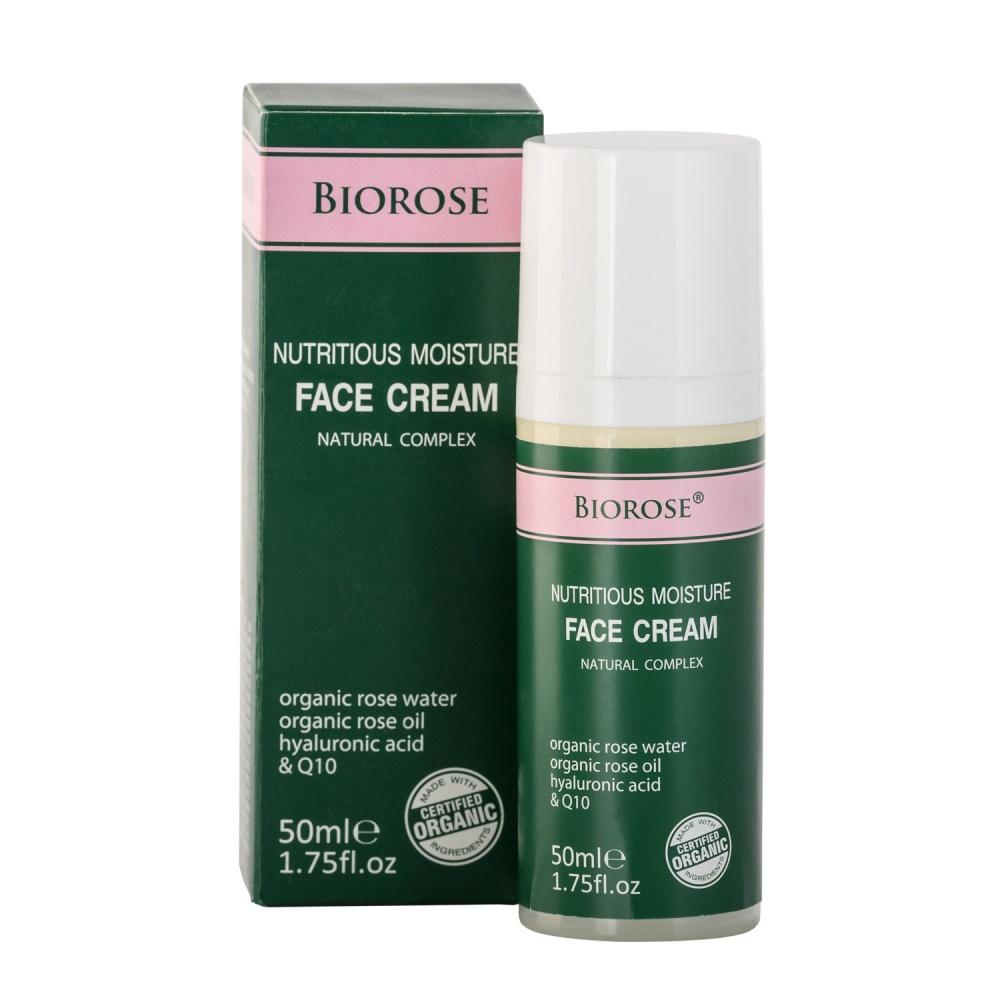 Подхранващ крем за лице - Nutritious Moisture Face Cream 50 мл | BioRose | Красота и здраве
