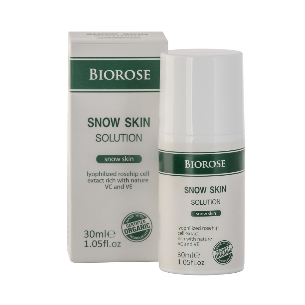 Избелващ серум - Snow Skin 30 мл | BioRose | Красота и здраве