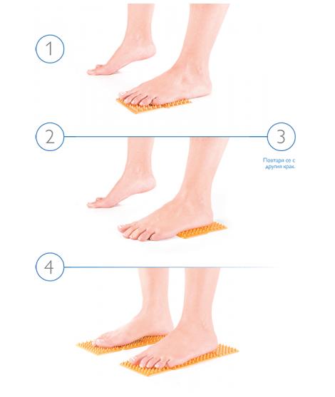 Апликатори - лечебна терапия на стъпалата FIGURA | Красота и здраве