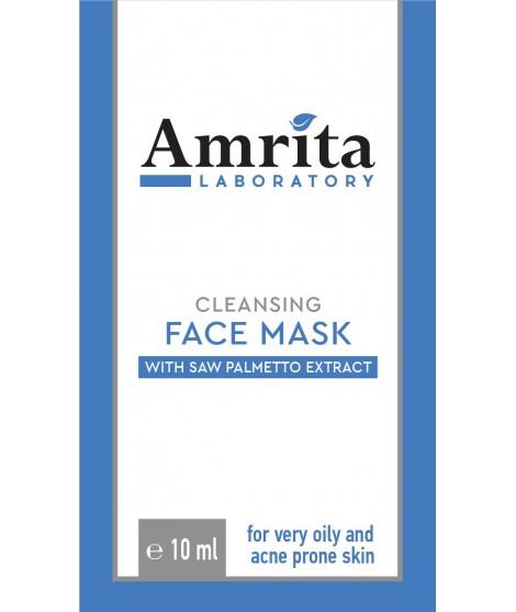 Маска за много мазна и предразположена към АКНЕ кожа със  10 мл SAWPALMETTO | Амрита лаборатория | Амрита | Красота и здраве