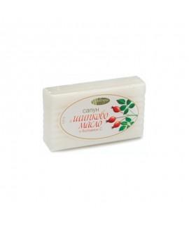 Натурален сапун с шипково масло и витамин C 100 гр. | Тобекс | beautyhealth.bg